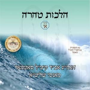 HILCHOS TAHAREH-KELOLI 5768