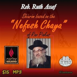 SHIURIM BASED ON NEFESH CHAYA - ENGLISH