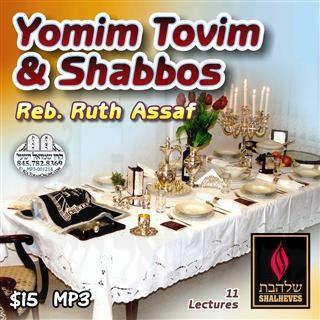 YOMIM TOVIM AND SHABBOS - ENGLISH