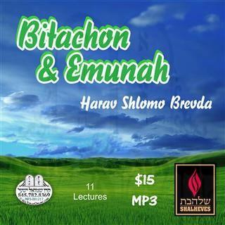 BITACHON AND EMUNAH - ENGLISH