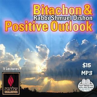 BITACHON AND POSITIVE OUTLOOK - ENGLISH