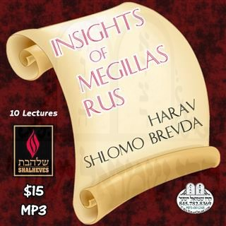 INSIGHTS OF MEGILLAS RUS - ENGLISH